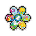 Flower Psychedelic Peace Decal Hippie Love Happiness Gloss Sticker HVG
