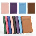 Travel Passport ID Card Cover Case Faux Leather Protector Skin Organizer Newly