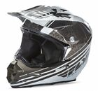 Fly Racing F2 Carbon Animal 2017 MX/Offroad Helmet Black/White