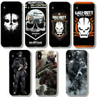 Call of Duty Classic War Games Cell Phone Cases for Iphone 6 7 8 X Galaxy S8 N8