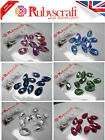 10pcs Swarovski 6106 16mm Almond Teardrop Pendants - Please select colour