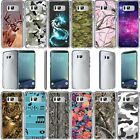 For Samsung Galaxy S8 SM-G950 Slim Fit Durable Clear TPU Case - Camouflage