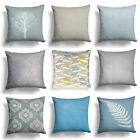 "Blue Duckegg Silver Grey Cushion Covers 18"" x 18"" (45cm x 45cm) Cover Collection"