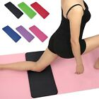 "Yoga Knee Pad Cushion (24x10"") Anti-Slip 15mm Thick Workout Exercise Travel Mat  image"