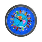 CafePress - Peaceful Children Around The World - Wall Clock