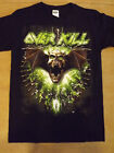 OVERKILL 2013 Skull T-Shirt *NEW music band concert tour Small Sm S image