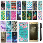 "For Sony Xperia XA2 Ultra 6"" Design HARD Protector Back Case Phone Cover + PEN"