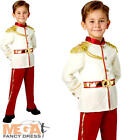 Prince Charming Boys Fancy Dress Disney Fairytale Book Day Child Kid Costume New