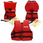 Boys Girls Life Jacket Boat Swimming Swim Vest PFD Red Infant Child Youth