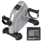 Mini Pedal Exerciser Bike Fitness Exercise Cycle LCD Counter Leg/Arm Workout NEW