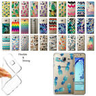 For Samsung Galaxy On5 G550 G500 Pineapple Clear Soft Gel TPU Case Cover