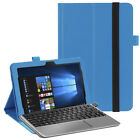 """Leather Smart Stand Case Cover For 10.1"""" ASUS Transformer Book T103HAF Tablet"""