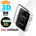 Apple Watch Series 3/2/1 3D Full Edge 9H Tempered Glass Screen Protector 38/42mm