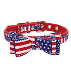 Small Dog Bow Tie Collar Soft Cotton for Pet Puppycat Chihuahua French Bulldog