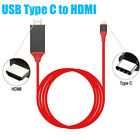 Type C To HDMI HDTV AV TV Cable Adapter For Samsung Galaxy S8 S9 Plus Macbook