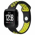 Sport Silicone Replacement Wrist Band Watch Strap For Fitbit Versa Smart