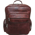 AmeriLeather CEO Leather Backpack 2 Colors Business & Laptop Backpack NEW