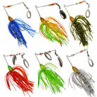4/6pcs Fishing Lures Crankbaits Hooks Small Minnow Baits Tackle Lure Bass