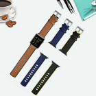 2018 Genuine Leather Silicone Replacement Wrist Band Strap For Apple Watch 1 2 3