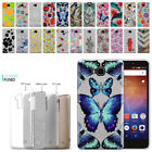 For Huawei Ascend XT H1611 Design Slim Sparkling Silver TPU Case Cover