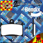 BENDIX 124-MRR ROAD RACE FRONT BRAKE PADS TO FIT MOTORCYCLES DETAILED IN LISTING $42.68 AUD on eBay
