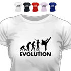 Evolution Of Kickboxing T Shirt All Size/Colour
