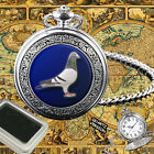 PIGEON RACING, DOVE, TAUBE, PALOMA BIRD POCKET WATCH GIFT ENGRAVING