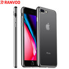 For iPhone 7 Plus 8 Plus Case Crystal Clear Ultra Slim Fit TPU Soft Shockproof
