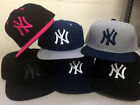 New York Yankees Snap Back Cap Hat Embroidered NY Men Adjustable Flat Bill on Ebay