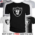 Chucky Jon Gruden T-Shirt Oakland Raiders Las Vegas Is Back Cotton Return Men