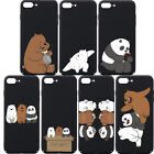 Funny Print Phone Case We Bare Bears Carton for Iphone 6 7 8 X Samsung Galaxy S8