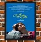 Framed Call Me by Your Name Film Poster A4 / A3 Size In Black / White Frame
