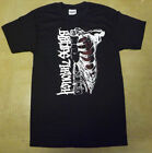 BLEEDING THROUGH Opposition Ribcage T-Shirt **NEW Concert Tour Band Music Sm S image