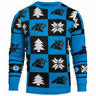 Carolina Panthers NFL Repeat Patches Holiday Sweater
