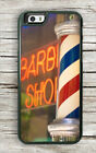 BARBER POLE EMBLEMATIC SIGNS CASE FOR iPHONE 6 6s or 6 6s PLUS -dfe4X
