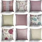 "Dusky Blush Pink Mauve Cushion Covers 18"" x 18"" (45cm x 45cm) Cover"