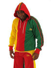 Superstar Jamaica Reggae LION OF JUDAH - RASTA HOODIE JACKET - XXL/XL/L/M - CAD