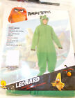 Rubies Child Angry Birds Movie Leonard Pig Costume Green Hooded Jumpsuit S M L