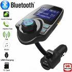 Bluetooth Car FM Transmitter Wireless Radio Adapter Mp3 Player Kit USB Charger A