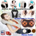 Electric Shiatsu Kneading Massager Heat Therapy For Back Neck Foot Shoulder SW
