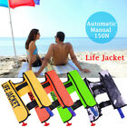 Unisex Adult Inflatable Life Jacket Vest for Snorkeling Surfing Boating Swimming