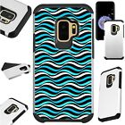 FUSIONGuard For Samsung Galaxy S9 S8 Note 8 J7 J3 Phone Case TEAL SEA WAVE
