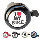 Внешний вид - Bicycle Cycling Ring Bell Heart Alarm Bike Metal Ultra Loud Handlebar Horn Pop
