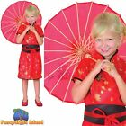 KIDS ORIENTAL CHINESE GEISHA GIRL - Age 3-10 - Girls Childs Fancy Dress Costume
