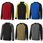Dickies Two Tone Crew Neck Sweatshirt Mens Durable Work Jumper SH3008
