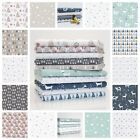 MODERN CHRISTMAS 18 - CRITTERS TREES STARS fabric SCANDI HYGGE STAG free postage