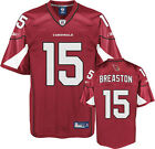 Steve Breaston Arizona Cardinals Replica Jersey Reebok new with tags NFL Cards