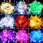 10M String 100 LED Christmas Tree Fairy Party Lights Lamp Xmas Waterproof KY