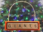 San Francisco Giants Christmas Ornament Scrabble Tiles Magnet on Ebay
