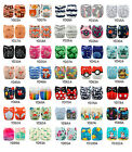 Kyпить ALVA Baby Cloth Diapers Lot One Size Reusable Washable Pocket Nappies + Insert на еВаy.соm